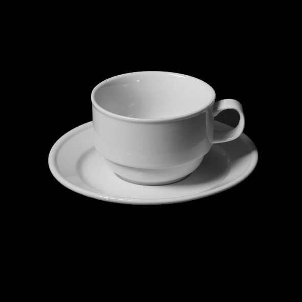 Cup ''Tradition'' 0,18 l with Saucer UTT