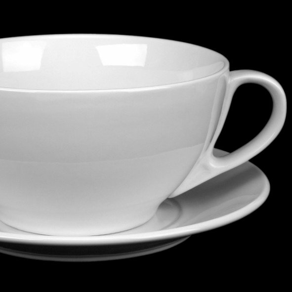 Giant cup and saucer ''Classico'' 3,65 l