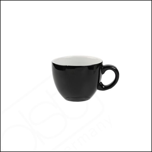 """Kaffee/Cappuccinotasse """"Palermo"""" 0,20 l schwarz (**)"""