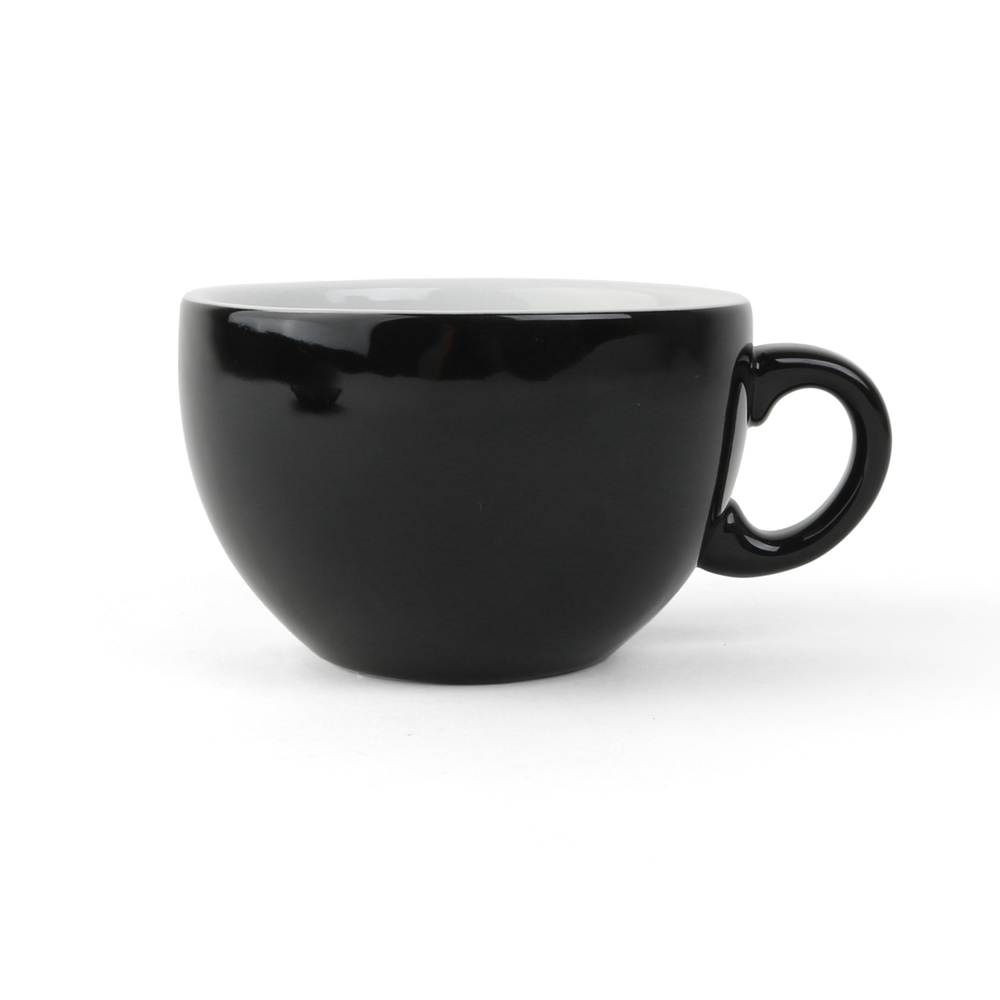 Milk coffee cup ''Palermo'' 0,35 l black