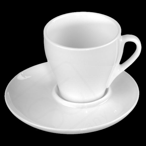 """Milchkaffee-Set """"Italiano"""" 0,35 l mit UTM 017 (**)"""