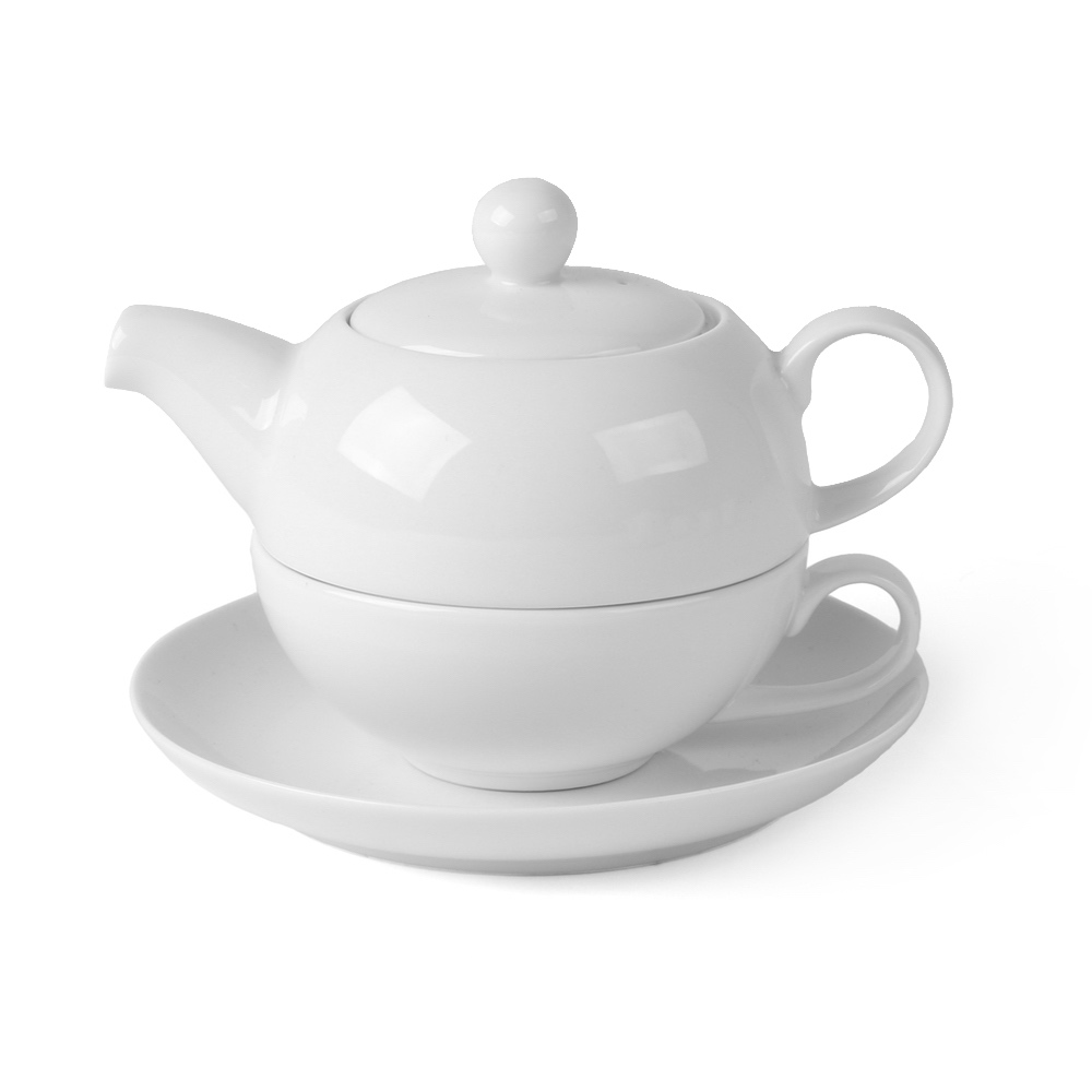 "High Alumina Tee-Set ""Tea for One"" 3-tlg."