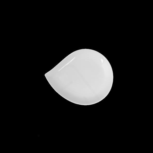 Plate Teardrops 19 cm