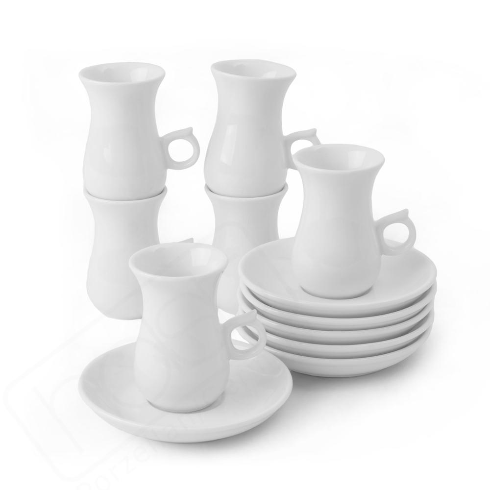 Türkische Teetasse-Set 0,08 l mit UTP 118