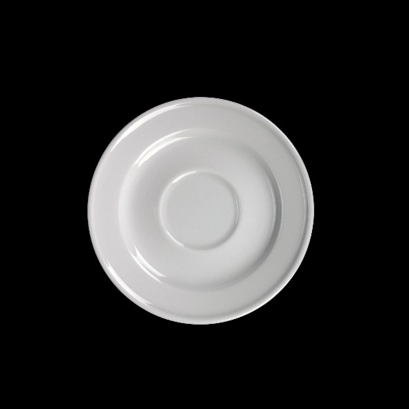 Untertasse 14 cm Form Stabrand, Spiegel 5,2 cm - Zweite Wahl (*)