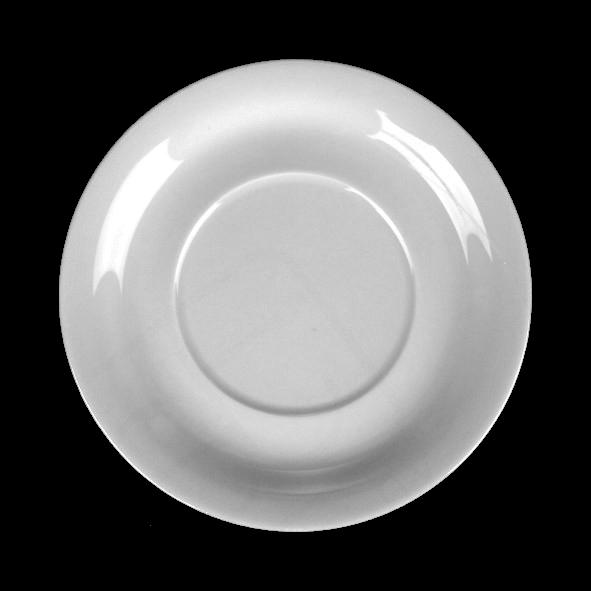 Untertasse 18 cm flache Form, Spiegel 9,0 cm