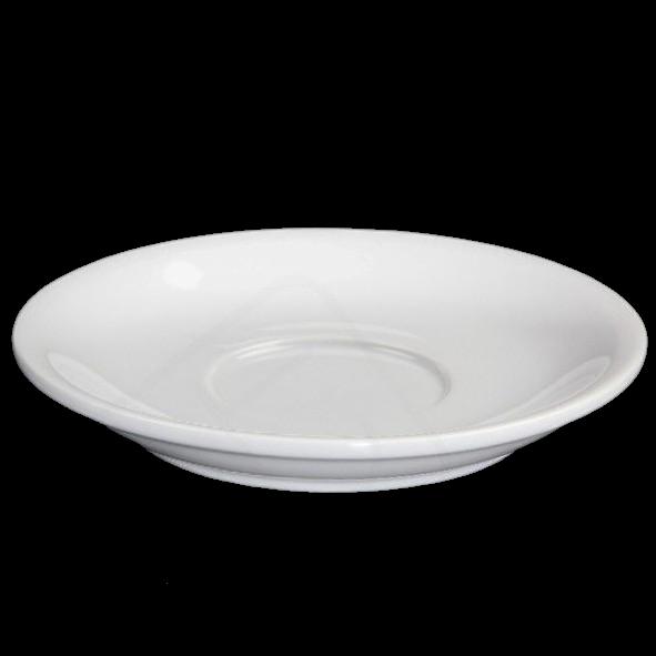 Untertasse 14 cm flache Form, Spiegel 5,2 cm