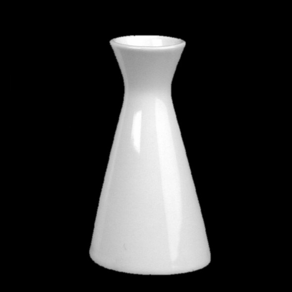 Flower vase 18 cm, X-shaped
