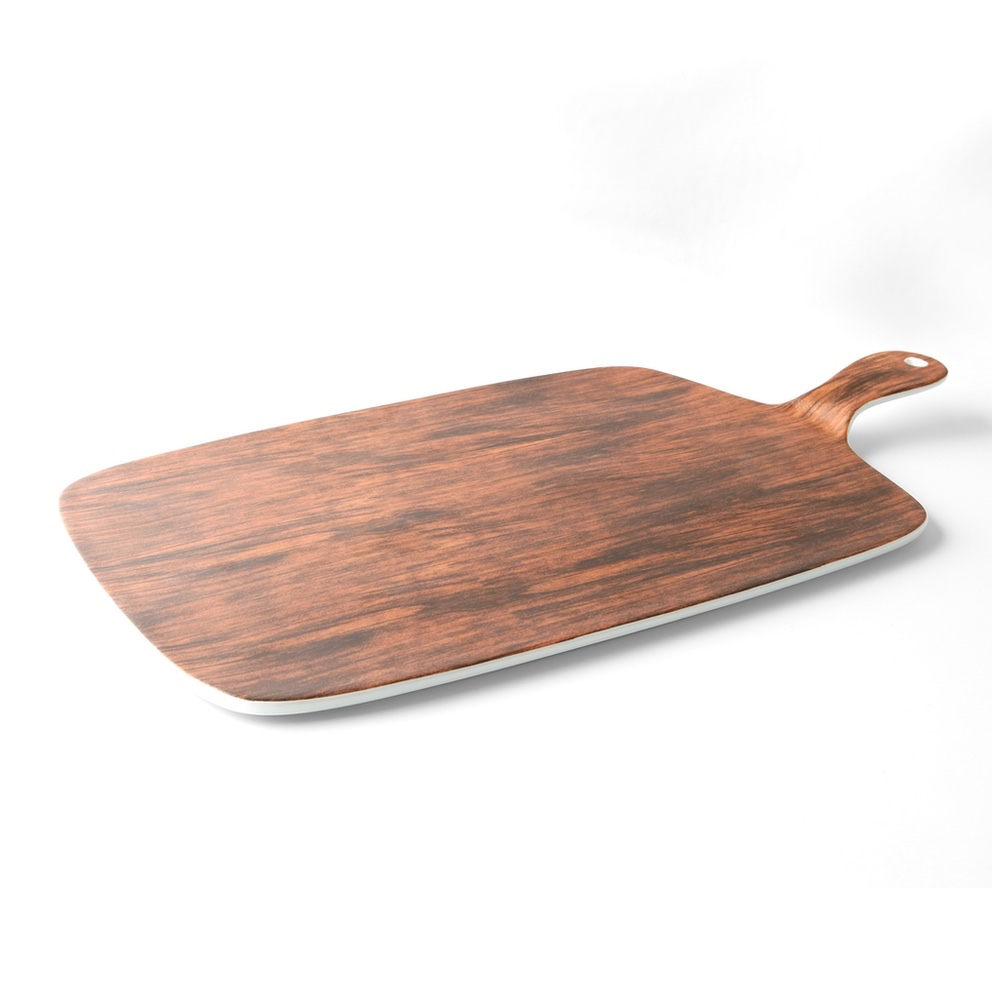 Snack plate 41 x 23 cm ''Wood Design''