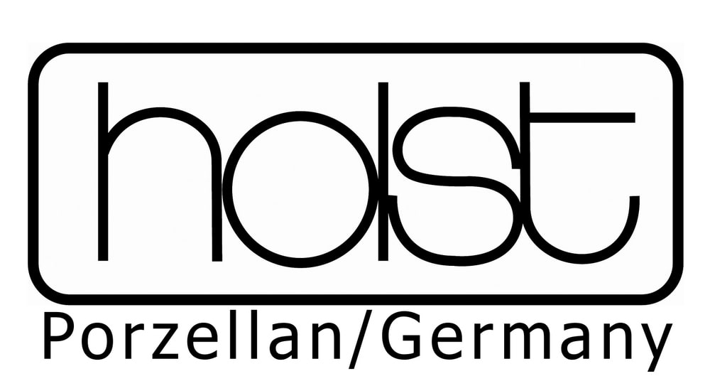 Label 7 cm Logo ''Holst Porzellan/Germany''