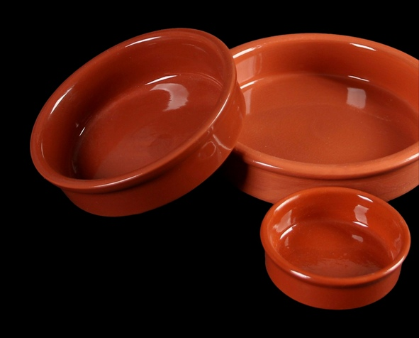 "Keramikschale 14 cm ""Mediterrano braun"" o. Laffe"