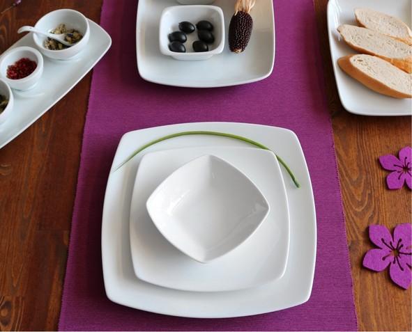 """Event- & Speisenteller 27 x 27 cm """"Fine Dining"""""""