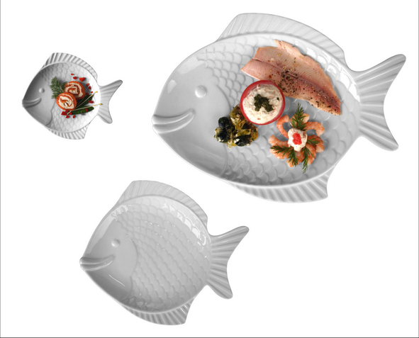 """Fischplatte/Fischteller """"Nemo"""" 50 cm"""