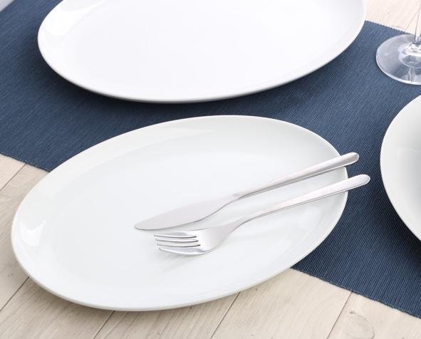 "Oval plate 35 x 25 cm ""Maxima Oslo"""