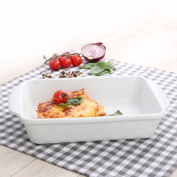 Rectangular baker with handles 23 x 18 cm