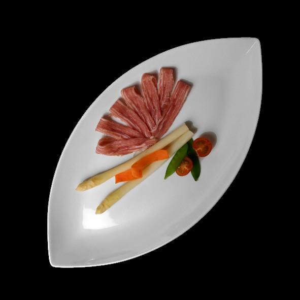 """Platte oval 35 x 18 cm """"Bateau"""" (**)"""