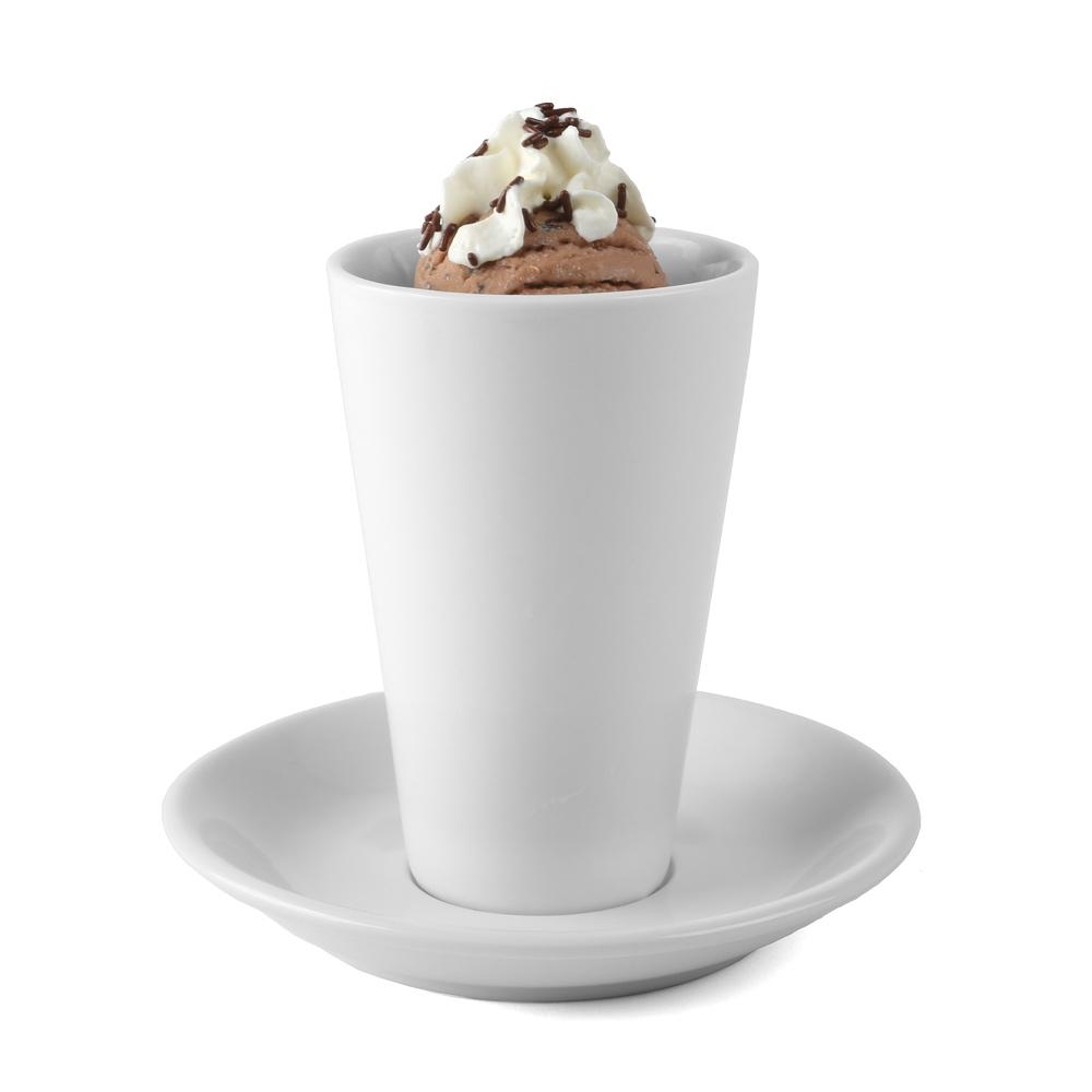 Iced coffee 0,36 l with Saucer UTA 2-pcs.