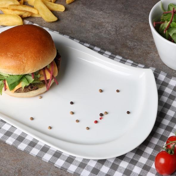 "Burgerplatte oval 33 x 20 cm ""Sigma"""