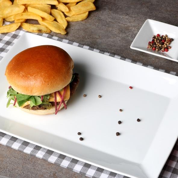 """Burgerplatte 31,5 x 20,5 cm """"Hong Kong"""""""