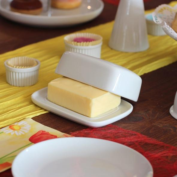 """Butterdose 1/1 """"Gutshof"""