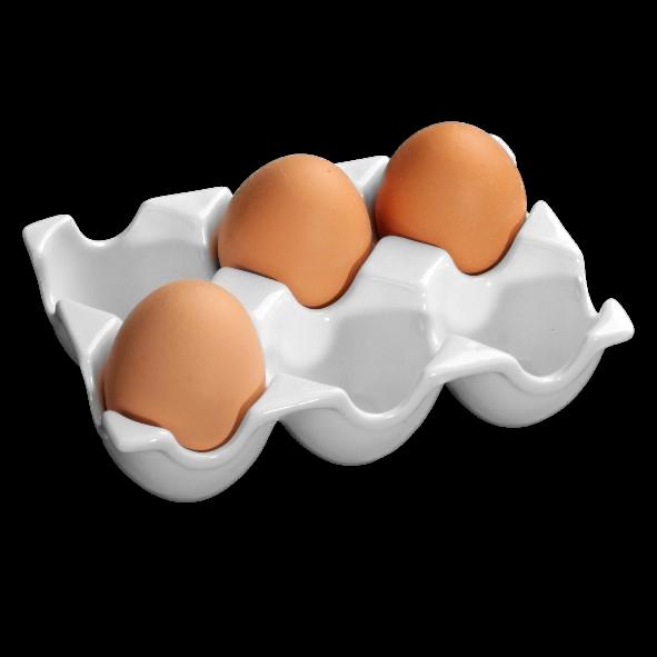 """Eierträger/Eierkarton """"Snack Line"""" 15 x 10 cm"""