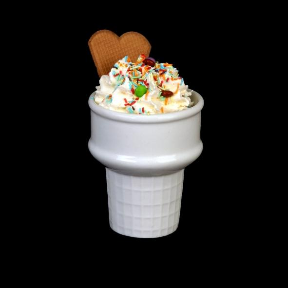 Beaker ''Soft-Ice-Cream'' 10 cm