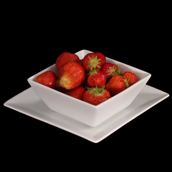 Erdbeer Servierset 14 cm, 2-tlg.