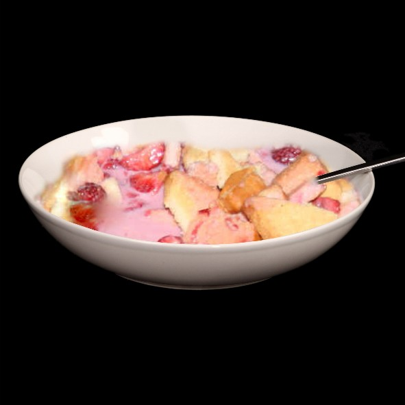 Erdbeeren Norddeutsch - Milch & Zwieback