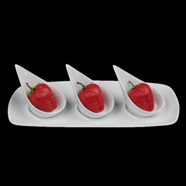 """Fingerfood Servierset 4-tlg. """"Floater"""