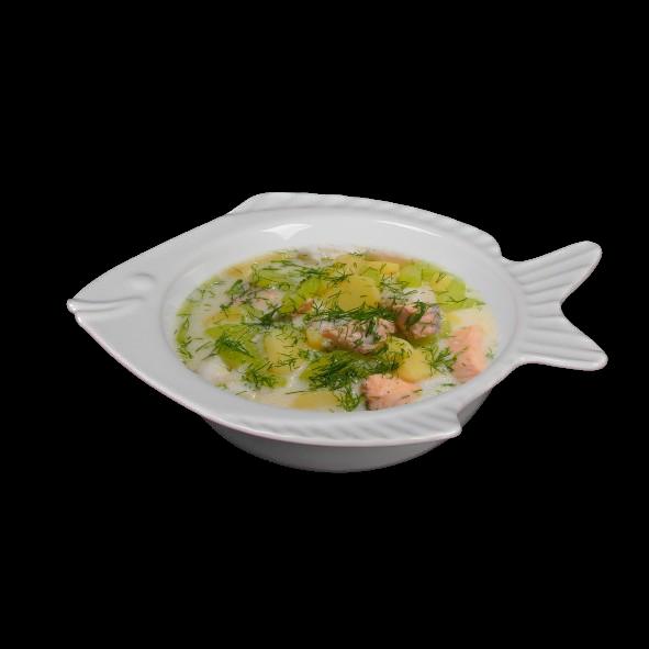 Suppenschale Fischoptik 0,50 l (**)