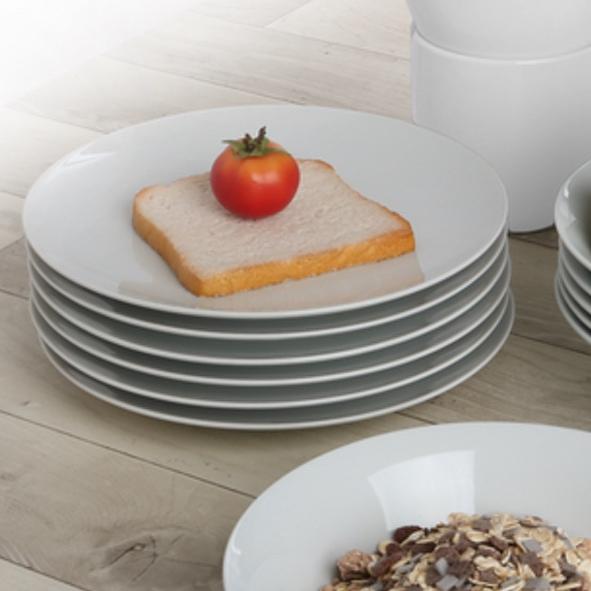Vorteilsset 12er Set Frühstücksteller 20 cm