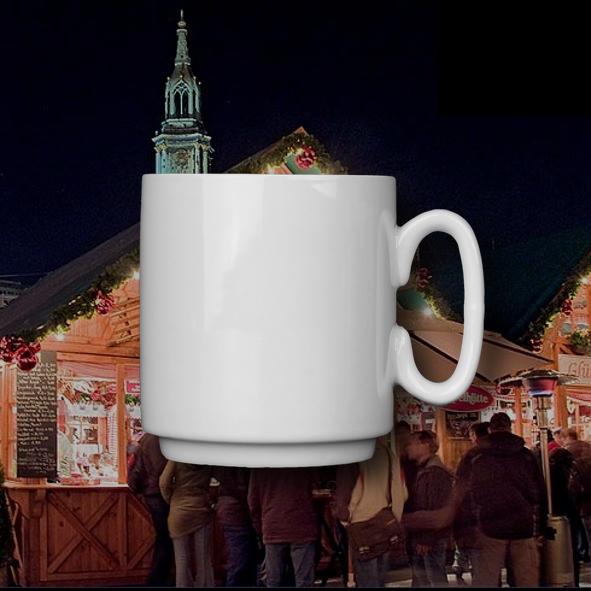Mug 0,22 l, stackable