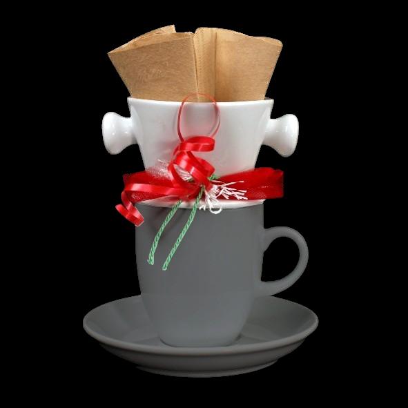Kaffeefilter aus Porzellan für Tasse/Pott