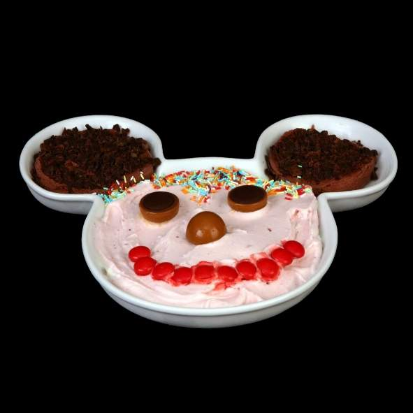 Ice cream dish ''Mouse'' 28 x 25 cm