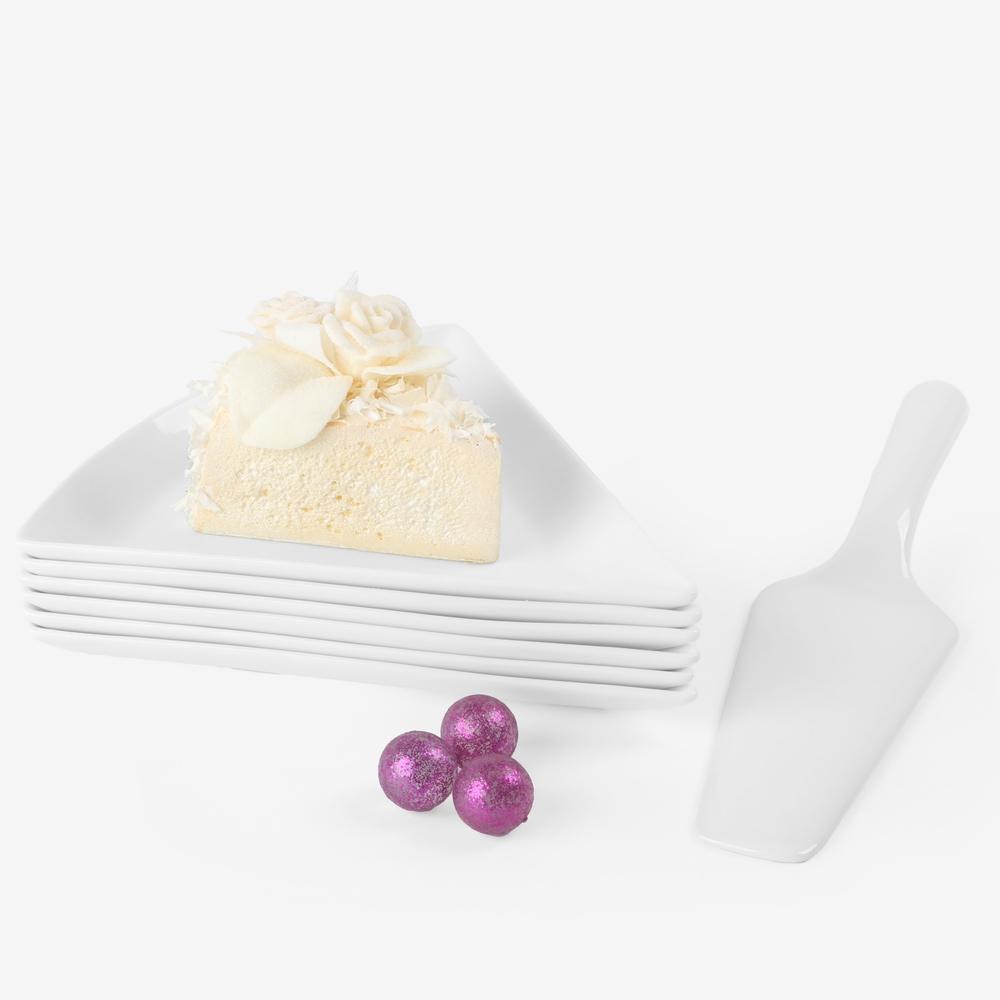 Kuchen-Servierset + Kuchenheber 7-tlg. (**)