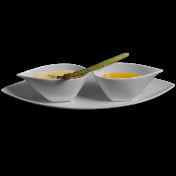 Menagen- & Saucenset 3-tlg. 25 x 12 cm (**)
