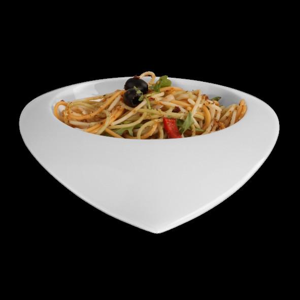 "Teller halbtief 28 cm ""Teardrops Dinner Bowl"" (**)"