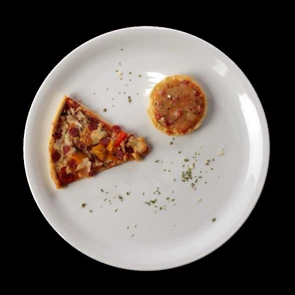 Pizzateller 28 cm für Pizzen bis 23,5 cm (**)