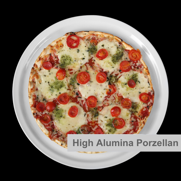 Profi Pizzateller 33 cm High Alumina Porzellan