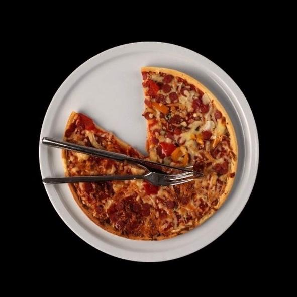 Pizzateller 30 cm für Pizzen bis 26,5 cm - Zweite Wahl (*)