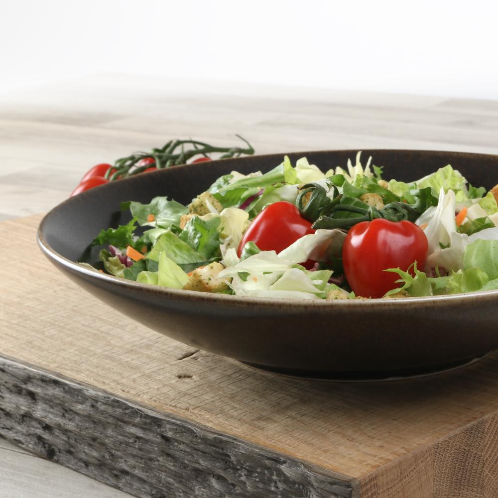 "Salatbowl groß 28 cm braun ""Re-Active Moreno"""