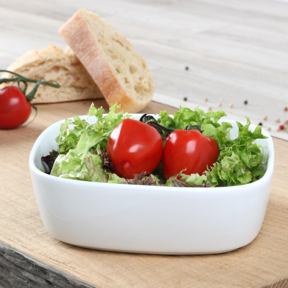 Salat-/ Beilagenschale 17 cm weiß