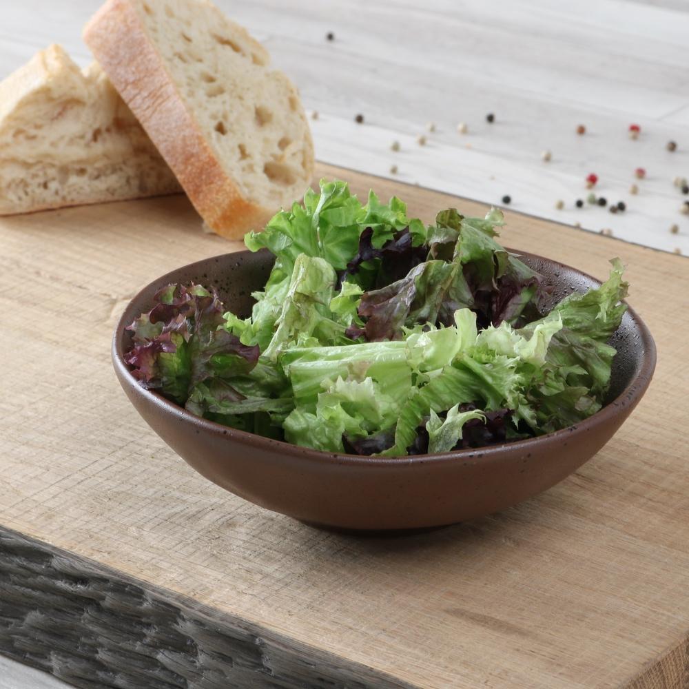 Salat-/ Beilagenschale 15 cm braun