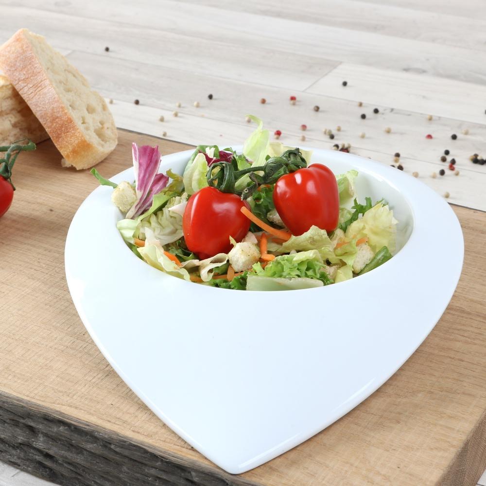 "Salatteller 28 cm ""Tropfenform"" (**)"