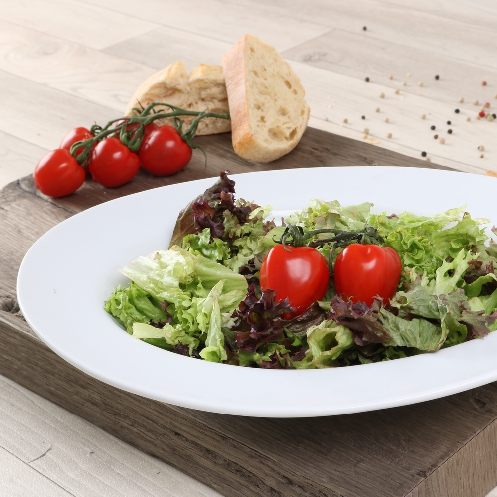 Salatteller oval 31 x 24 cm (**)