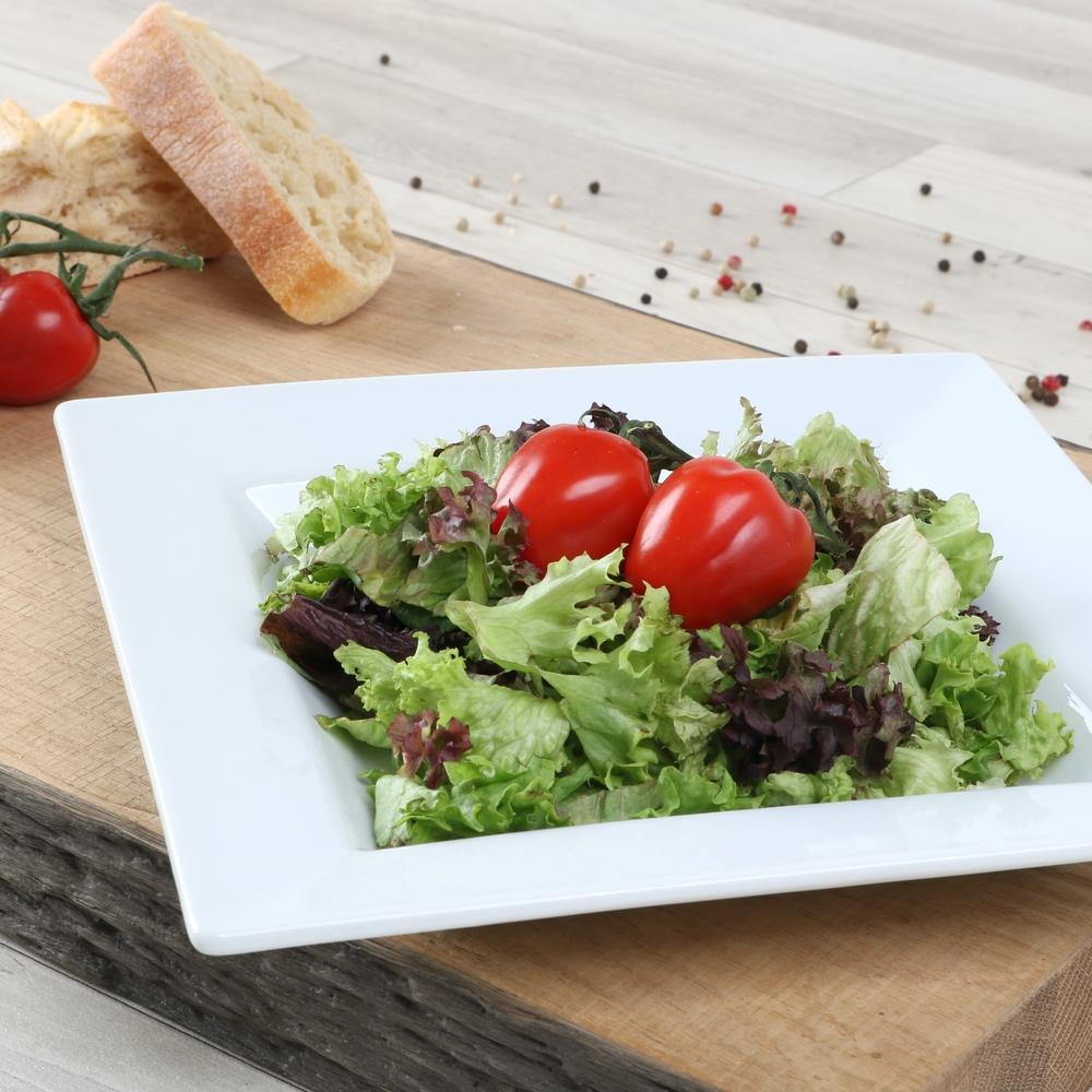 "Salatteller quadratisch 23 cm ""Kanton"" (**)"