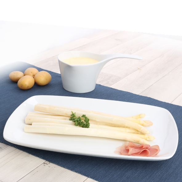 Plate for asparagus 31 x 22 cm ''Fine Dining''