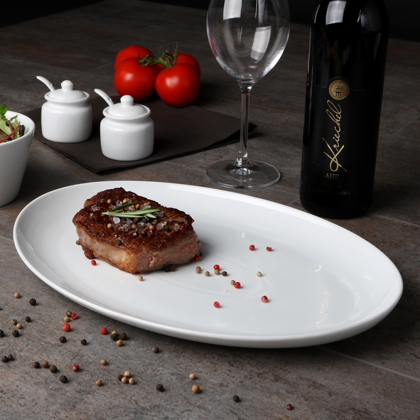Steak plate 35 x 25 cm ''Maxima Oslo''
