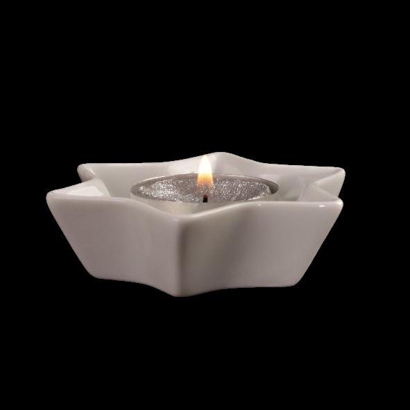 """Teelichthalter  9 cm """"Stern"""""""