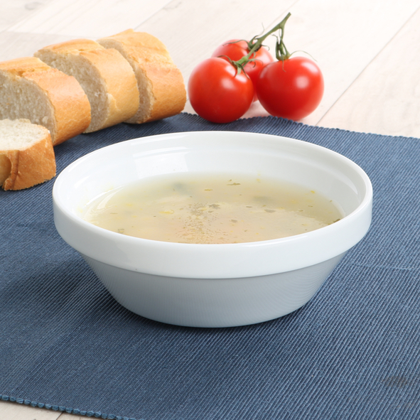 Soup bowl round 14 cm stackable